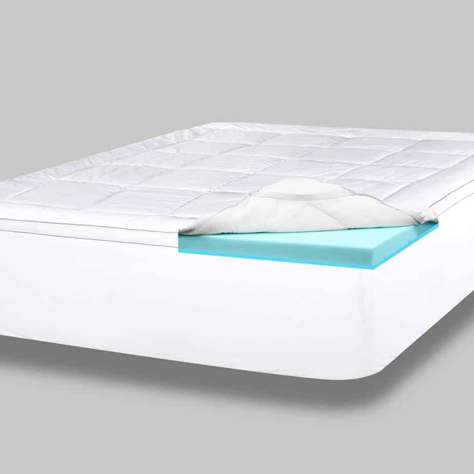 Viscosoft Serene Memory Foam Hybrid Mattress Topper